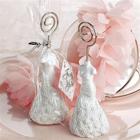 Wedding Dress Place Card Holders   INFMETRY