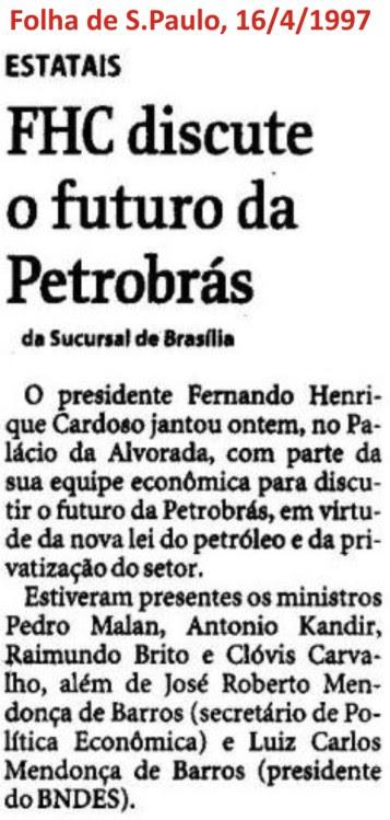 FHC_Legado58_Petrobras