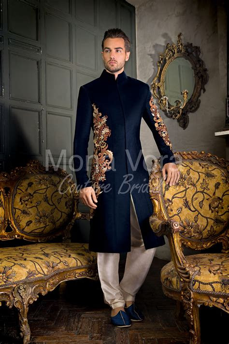 mens wedding suits  asian grooms fusion wear