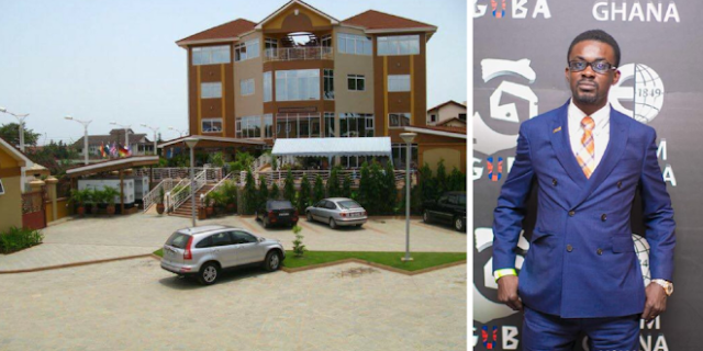 News:Nana Appiah Mensah 'Destroys' The 4-Star Hotel He Bought For Millions Of Dollars