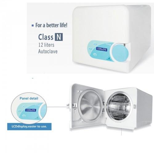 Cristofoli® Vitale 12 Litros Dental Autoclave de Mesa Clase N