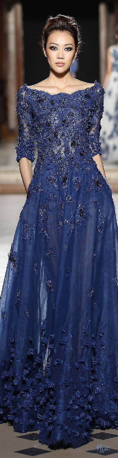 ~Fall 2015 Couture Tony Ward j??l?dy   Navy blue wedding