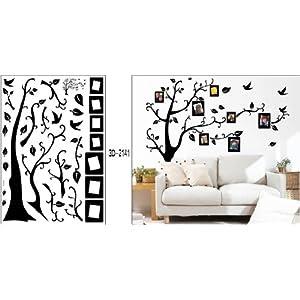 Amazon.com: Black Photo Picture Frame Tree Vine Branch Removable ...