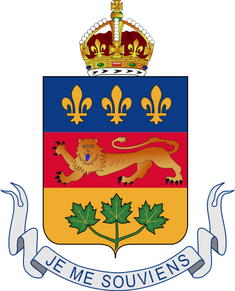 The Coat of Arms of Québec