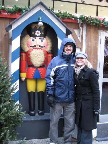 Craig and I with nutcracker