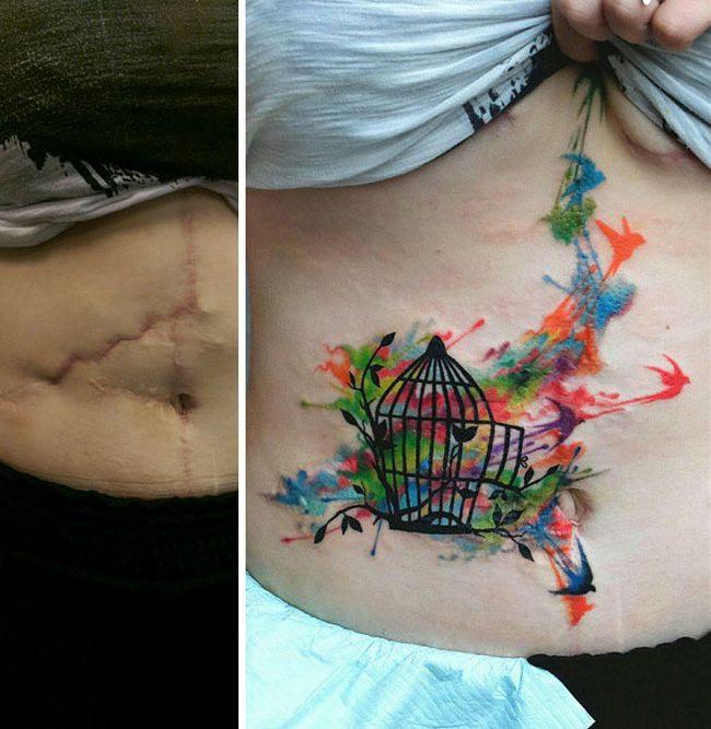 cicatrices convertidas en tatuajes (8)