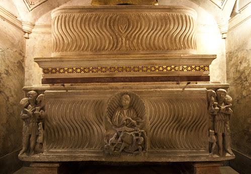 Sarcophagi of Roman Martyrs