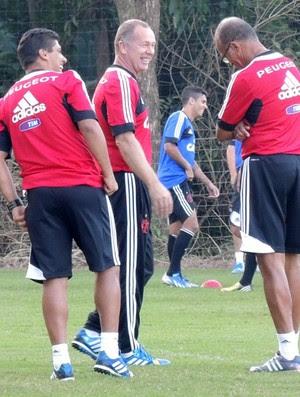 Mano MenezesTreino Flamengo (Foto: Cahê Mota)