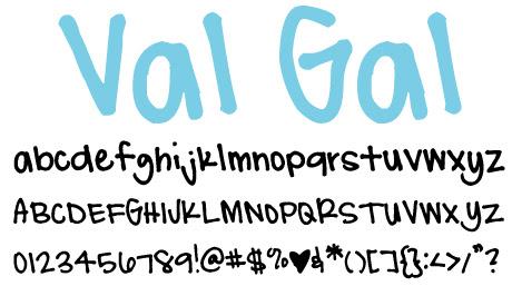 click to download ValGal