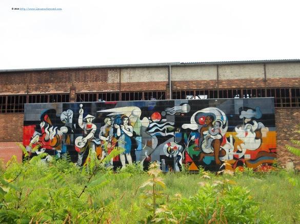 Graffiti at the train station
