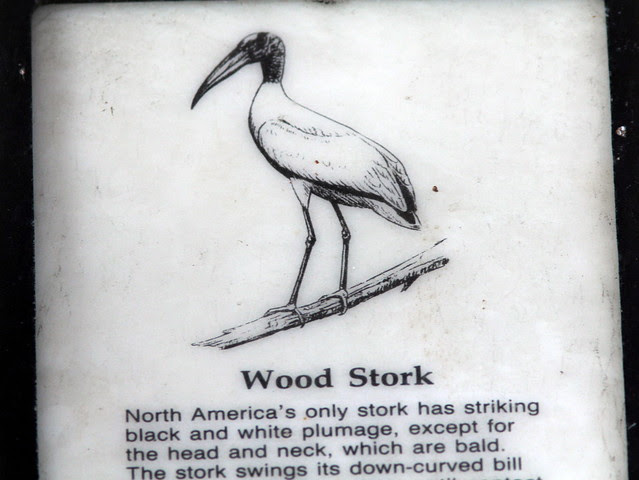 Wood Stork sign 20130406