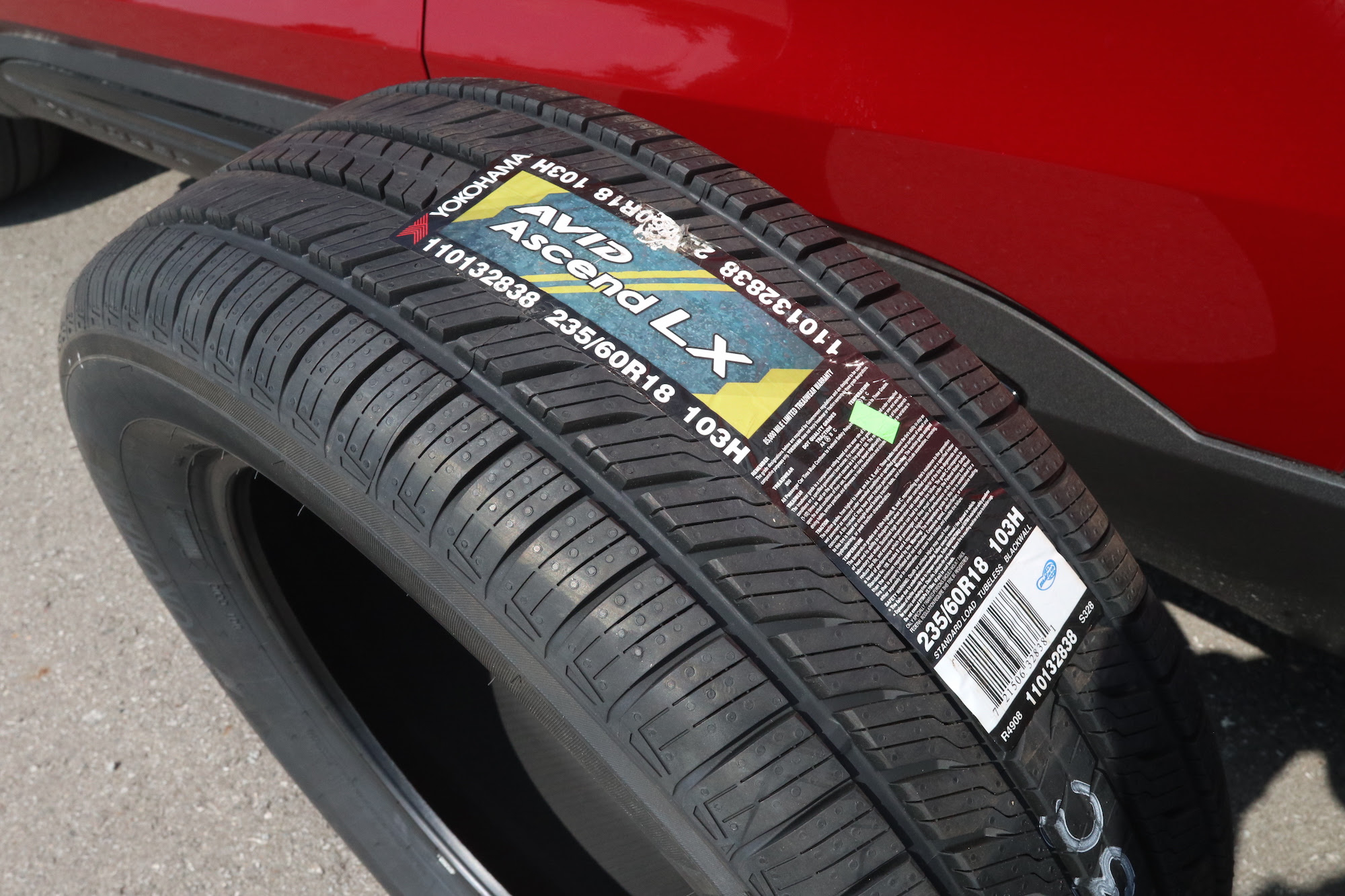 Review: Yokohama Avid Ascend LX All-Season Tires | Canadian Auto Review