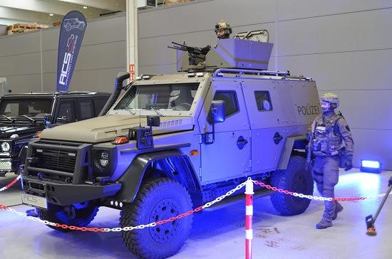 Polizeipanzer Enok 6.2