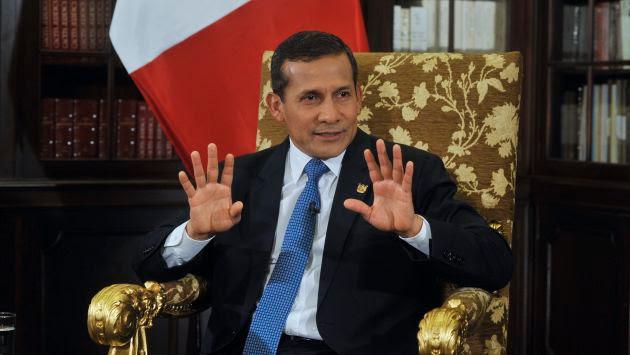 Ollanta Humala privatiza el 49% de la petrolera estatal peruana