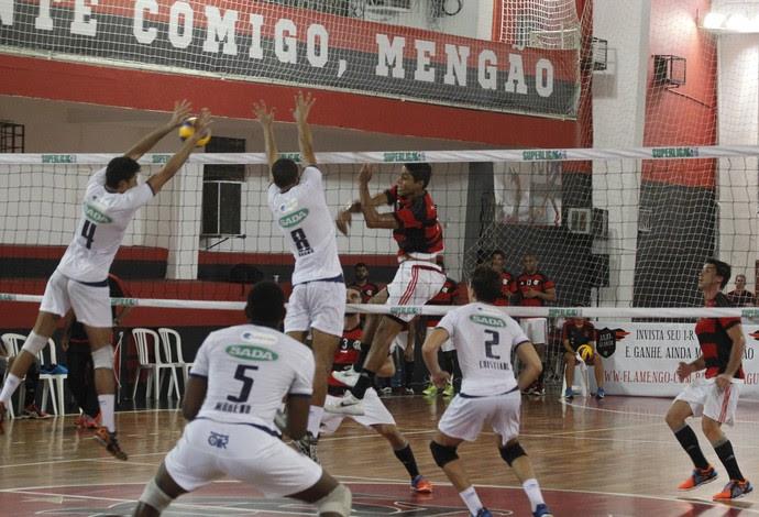 Mengão não consegue vencer em casa pela Superliga B de Volei
