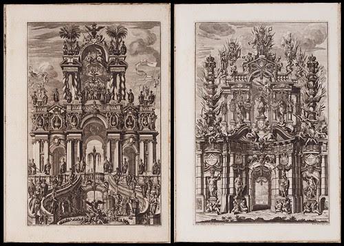 Triumphus Novem Seculorum by Antonius Bomer, 1725
