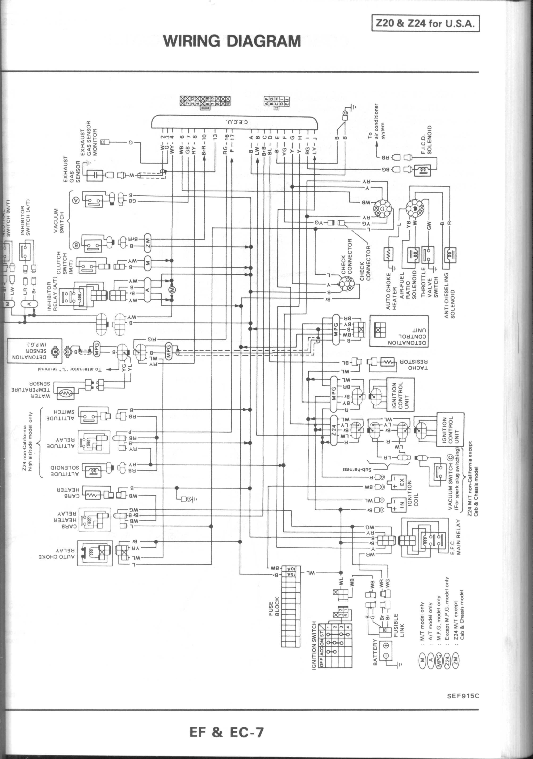 70 Fresh 1995 Nissan Pickup Tail Light Wiring Diagram