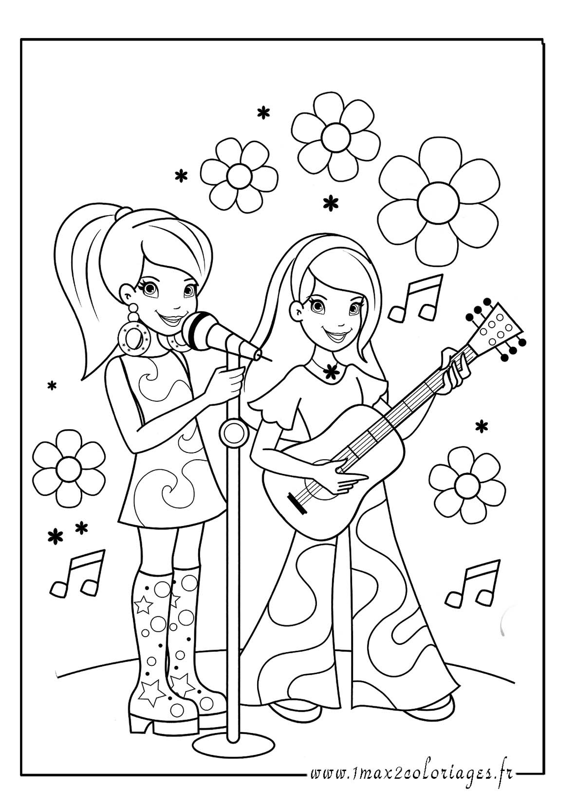fabulous stars en duo with coloriage fr