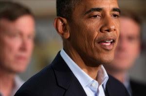 El presidente de Estados Unidos, Barack Obama (c).EFE