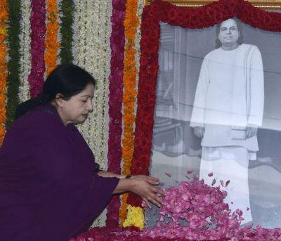 ஜெயலலிதா பூஜை