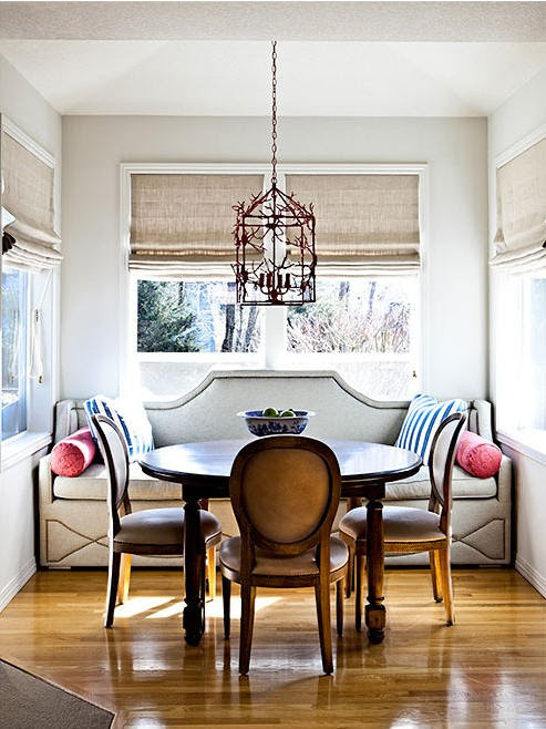 Banquettes: How to get the look with a sofa, loveseat or ...