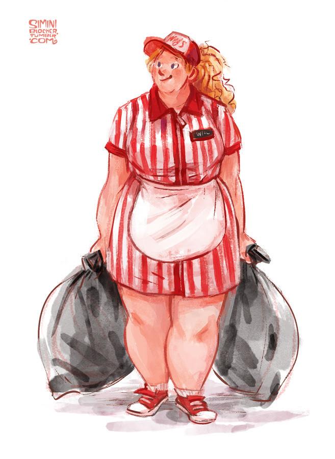 Resultado de imagen de dumplin julie murphy fan art