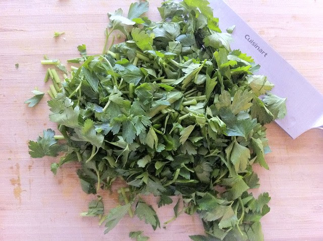 Flat Leaf Parsley Chopped