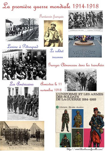 AAAfiche première guerre mondiale leçon 2