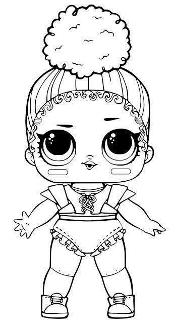 desenhos  colorir boneca lol boyama sayfalari lol
