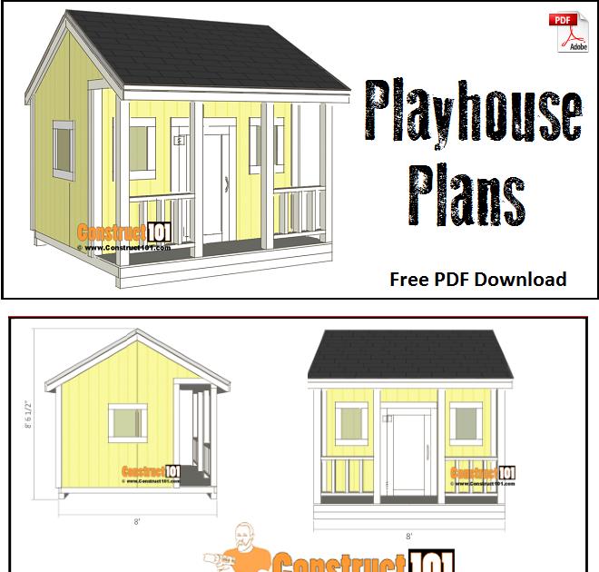 Free Cubby House Plans Pdf - Contoh Makalah