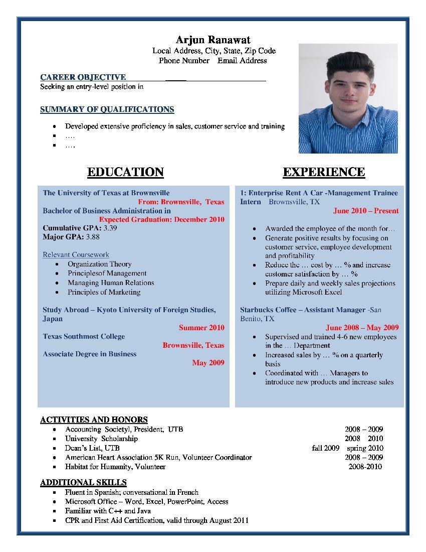 how to write a creative resume