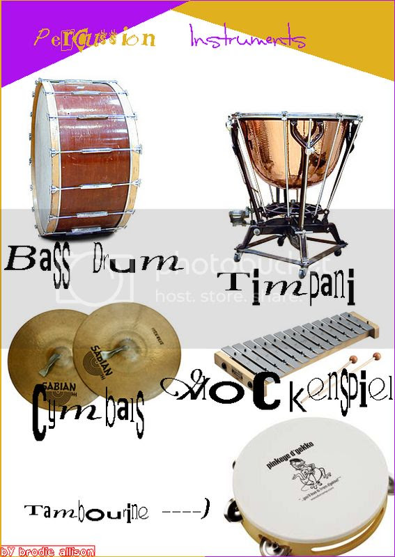 Homework For Music. A Percussion Poster. Pictures, Images and Photos