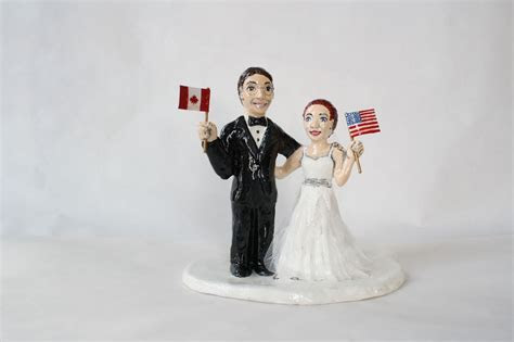 Halloween Ideas : Exquisite Wedding Cake Toppers Canada
