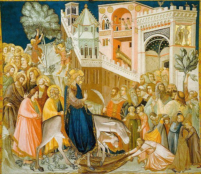 Ficheiro:Assisi-frescoes-entry-into-jerusalem-pietro lorenzetti.jpg