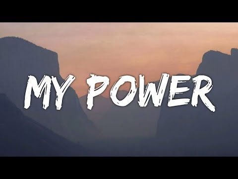 CHIKA - My Power (Lyrics) (From Project Power)