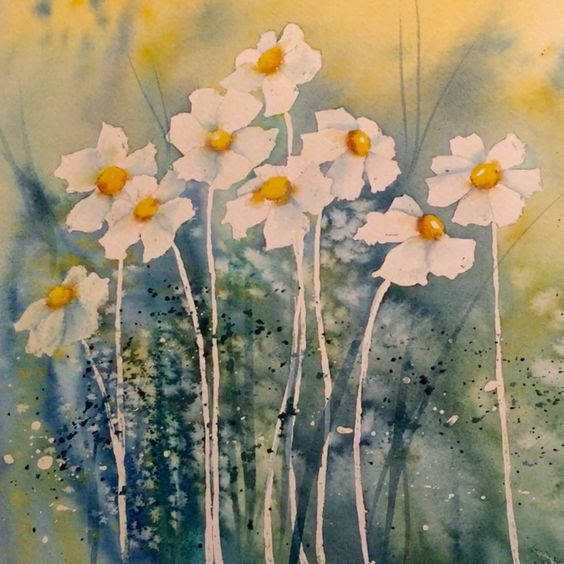 painting with watercolors
