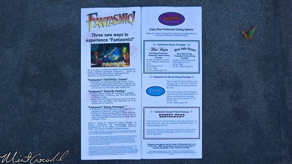 Disneyland Resort, Disneyland, Frontierland, Fantasmic, FastPass