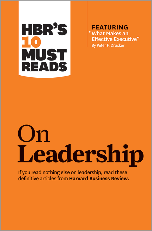 Product image of HBR's 10  Must Reads on Leadership