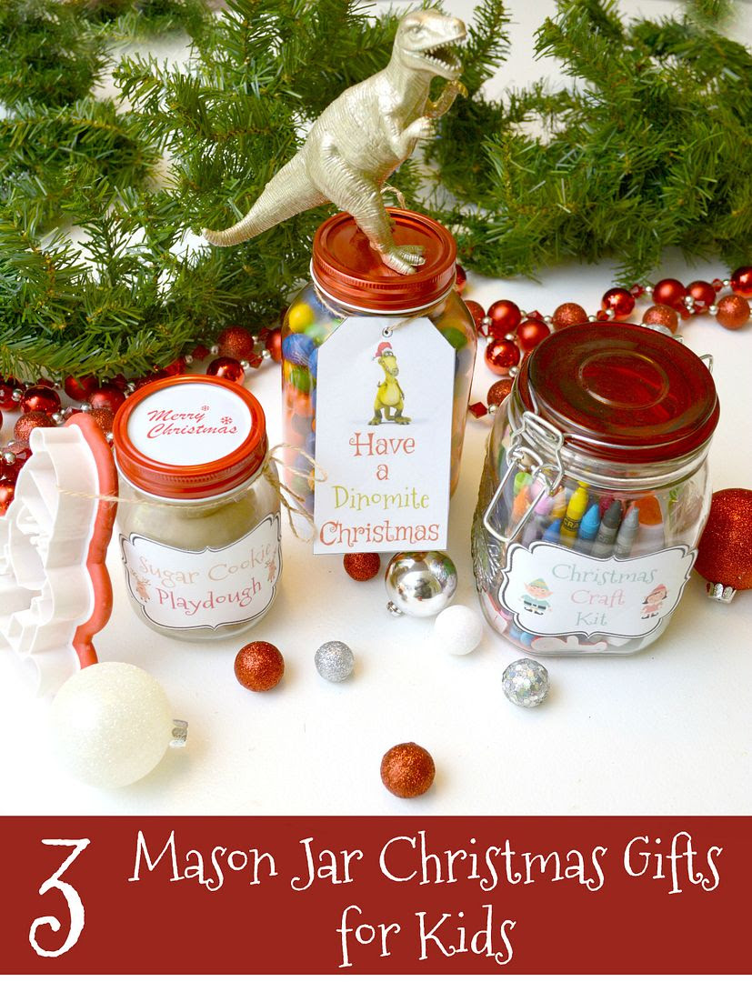 mason jar gifts for kids