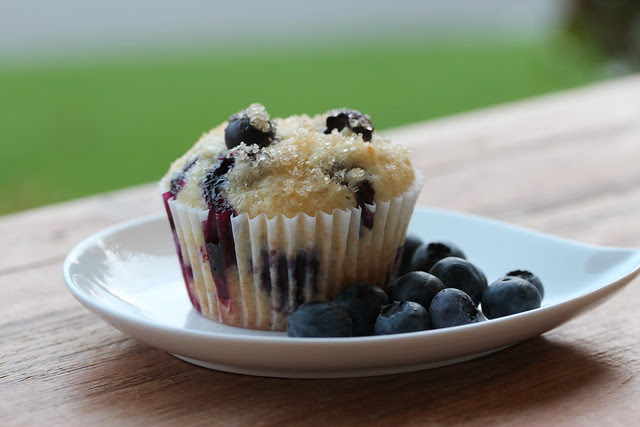 Blueberry Muffins - Real Simple