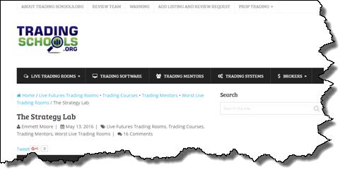 TheStrategyLab Review Tradingschools False Narrative Live Trade Room