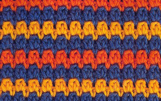 Punto 13 tejido a crochet