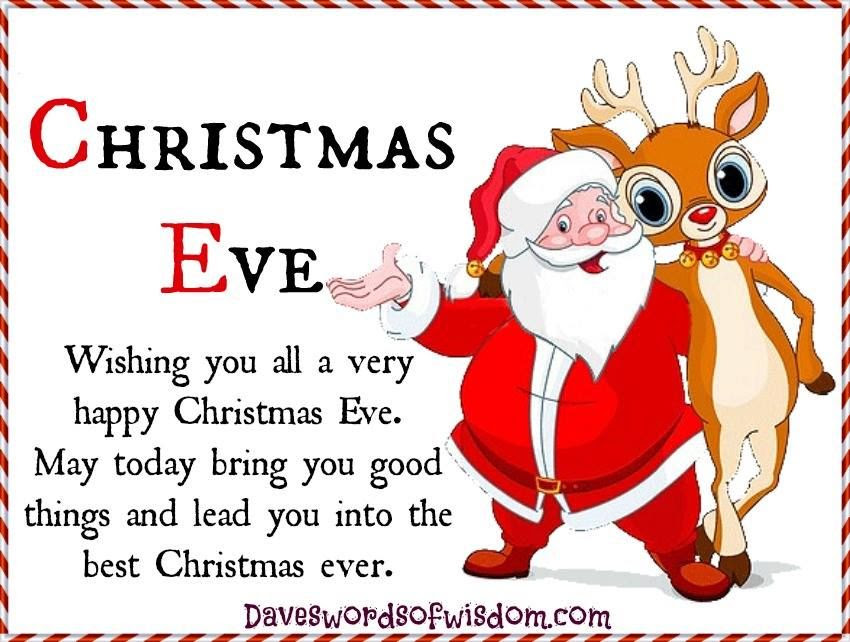 Wishing You All A Happy Christmas Eve Pictures, Photos ...