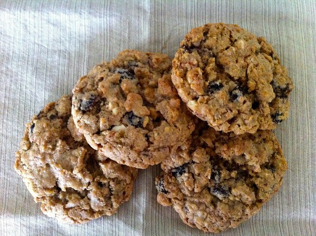 Oatmeal Raisin Chocolate Chunk Cookies
