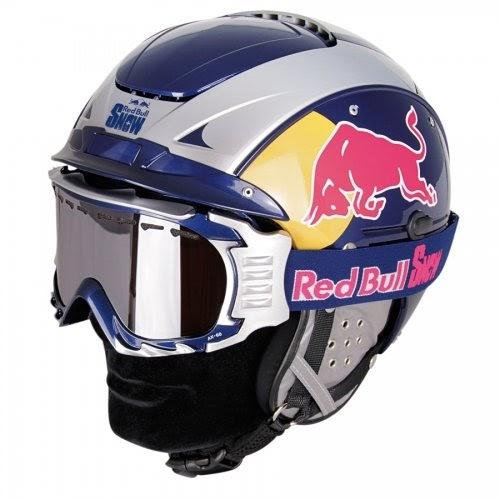 Helme (DE): Casco Skihelm SP-5 Red Bull Snow Blue