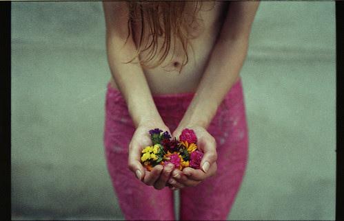 flowers in your hands