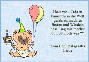 Geburtstagssprüche Deutsch Gloriaoycrodriguez Blog