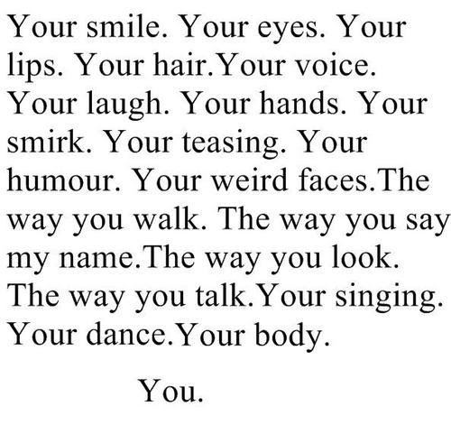 Your Smile Quotes For Him. QuotesGram