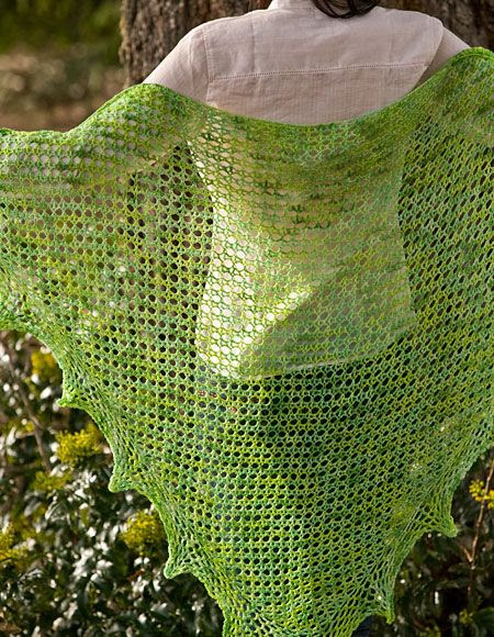 Solaris Lace Crochet Shawl - Crochet Pattern