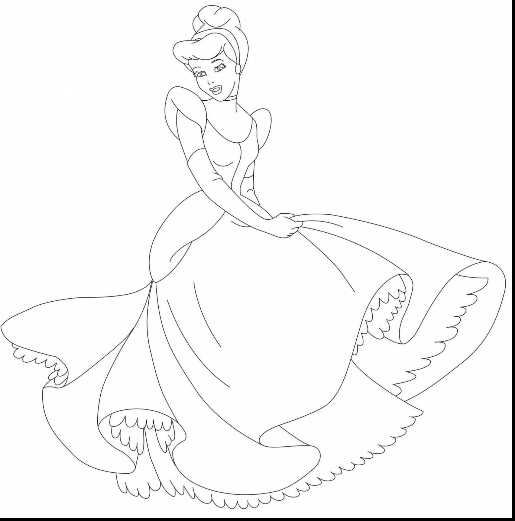 Cinderella Printable Coloring Pages at GetColorings.com ...